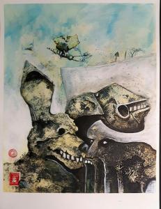 20180128 ©bli-art Mischtechnik-auf-Aquarellpapier 42x56cm-1000px