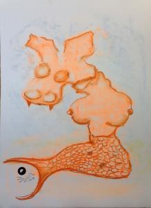 MeerDuttelHund_Pastellkreide-auf-Papier-42x58cm©jürgen-bley
