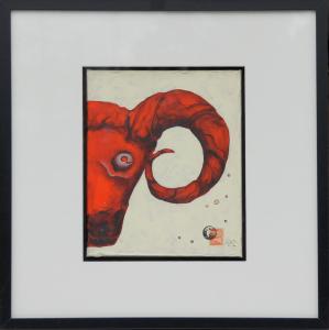 bock-25x30cm-acrylic-painting©bli-art