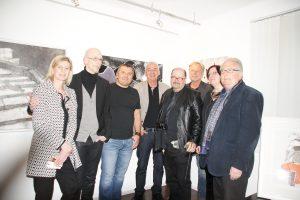 Mitglieder der Biennale Austria, Herwig Maria Stark, Jürgen Bley, Robert Richardson, Herbert Bauer, Elisabeth Rass.....