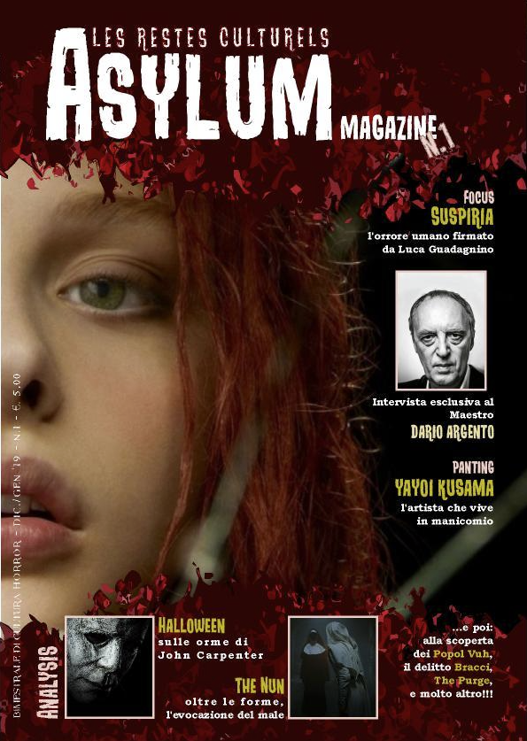 cover Asylum magazine