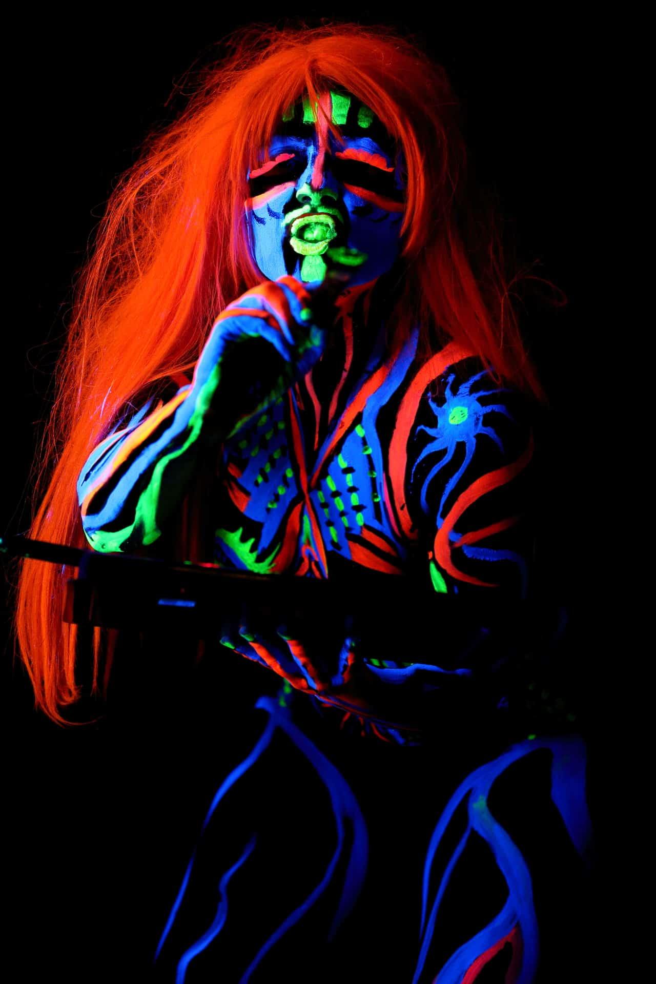 Bodypainting Model Cornelia