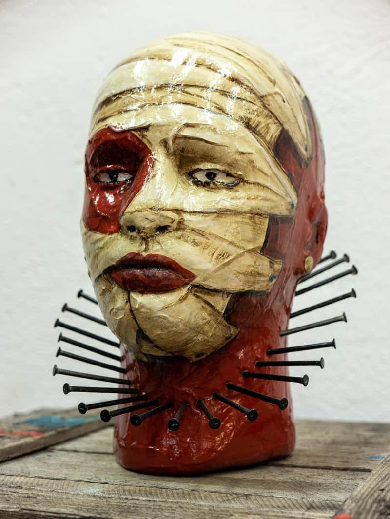 Zaungast mumie rechts