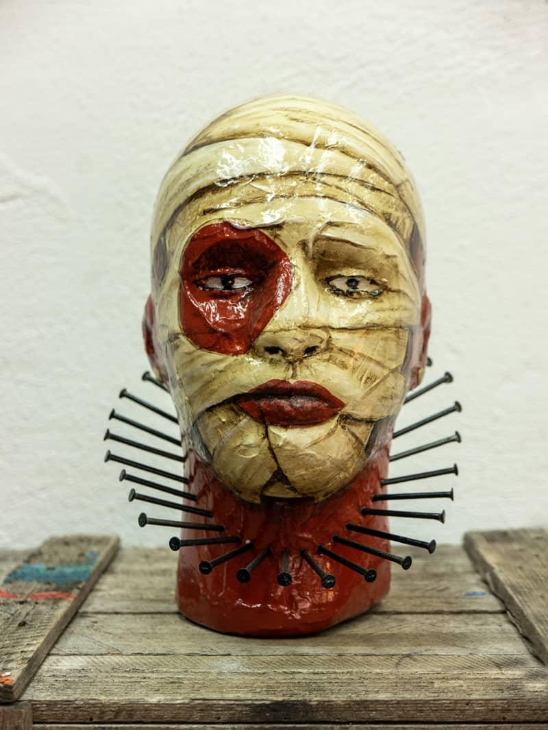 Zaungast Mumie