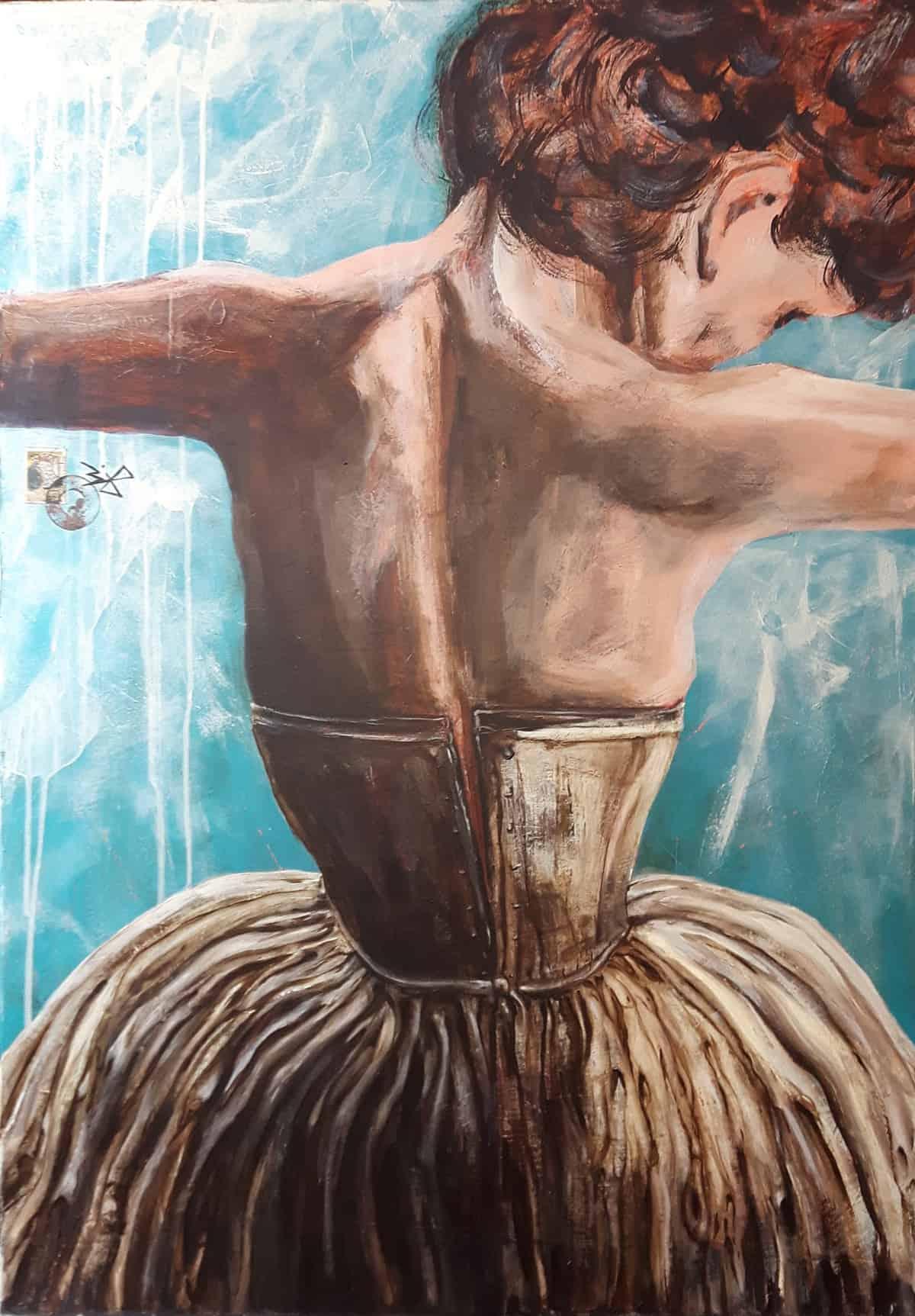 Claire Acrylic painting Bli-Art