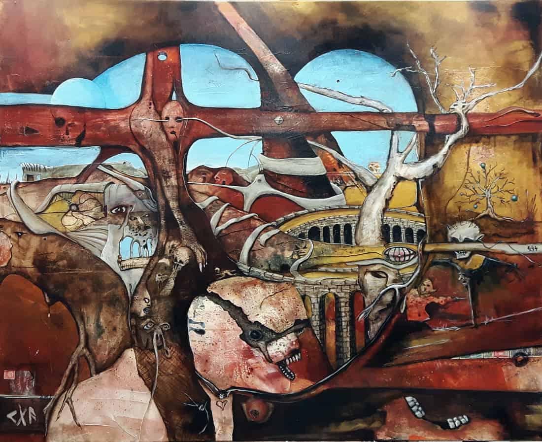Afrika painting