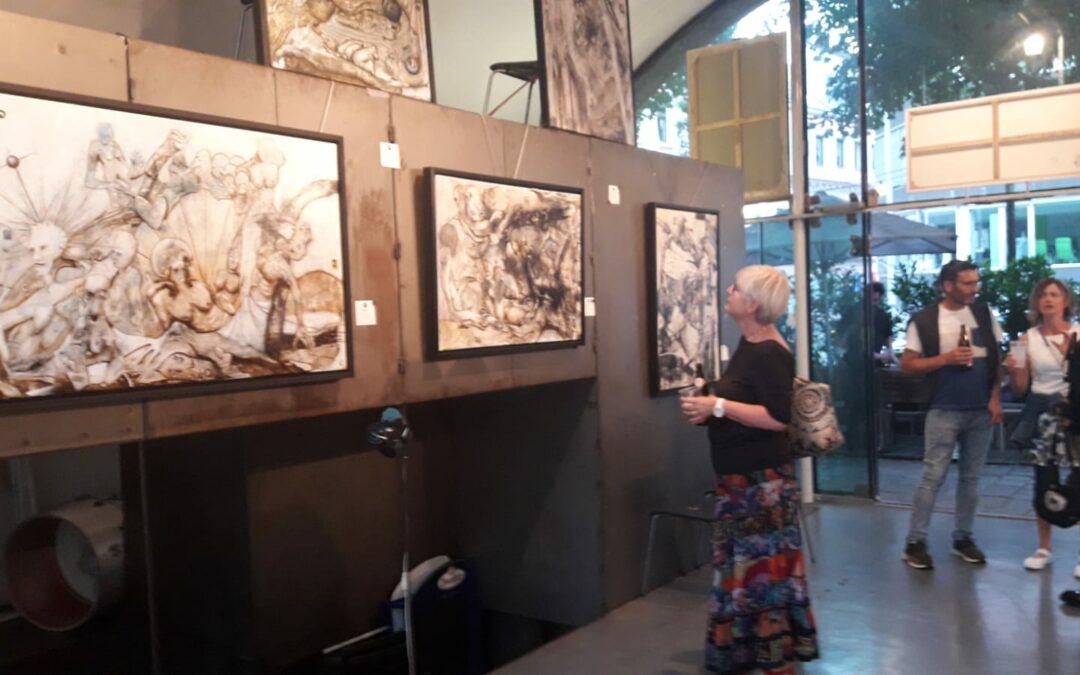 Ausstellung in der Galerie WIENSTATION