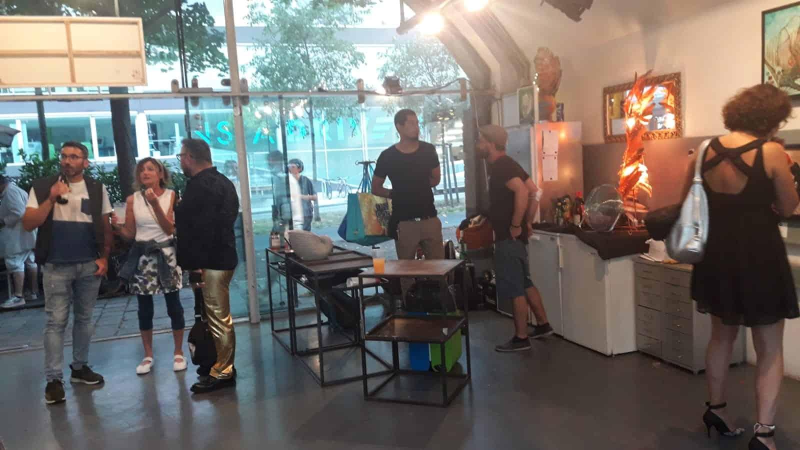 Ausstellung in der Galerie Wienstation Bli-Art